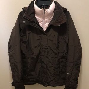 North Face 550, 3 in 1 Winter coat